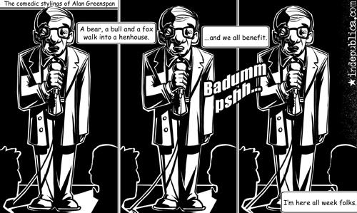 Greenspan Standup Comedy